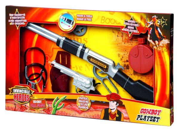 INVINCIBLE HEROES Playset cowboy INVINCIBLE HEROES Maschio 3-5 Anni, 5-7 Anni, 5-8 Anni, 8-12 Anni ALTRI