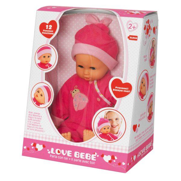LOVE BEBÈ Bebè parla con te LOVE BEBÈ Femmina 12-36 Mesi, 3-5 Anni, 5-8 Anni ALTRI