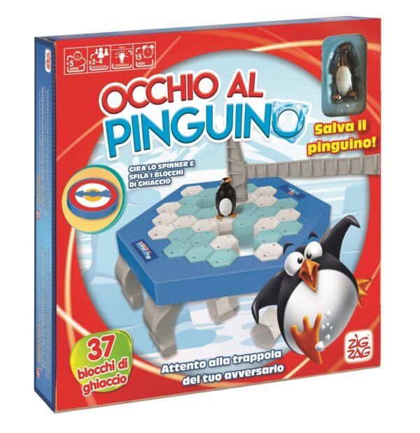 ZIG ZAG OCCHIO AL PINGUINO - Zig Zag - Toys Center ZIG ZAG Unisex 12+ Anni, 3-5 Anni, 5-8 Anni, 8-12 Anni ALTRI
