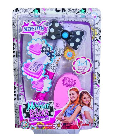 Maggie & Bianca Secret Pen - Altro - Toys Center Maggie & Bianca Femmina 5-7 Anni, 8-12 Anni ALTRO