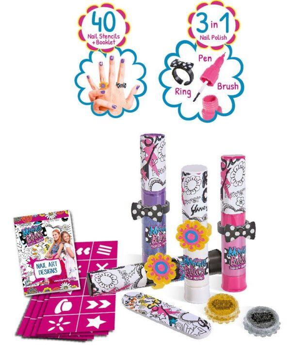 Maggie & Bianca Nail Art Glam - Altro - Toys Center Maggie & Bianca Femmina 12+ Anni, 5-7 Anni, 8-12 Anni ALTRO
