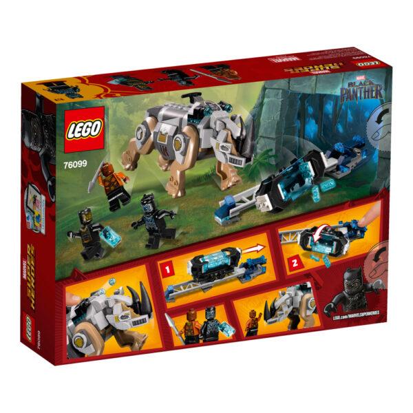 76099 - Resa dei conti con Rhino alla miniera - Lego Super Heroes - Toys Center ALTRI Maschio 12+ Anni, 5-8 Anni, 8-12 Anni LEGO SUPER HEROES