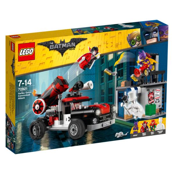 70921 - Attacco con il cannone di Harley Quinn™ - Dc Comics - Toys Center DC COMICS Maschio 12+ Anni, 5-8 Anni, 8-12 Anni BATMAN