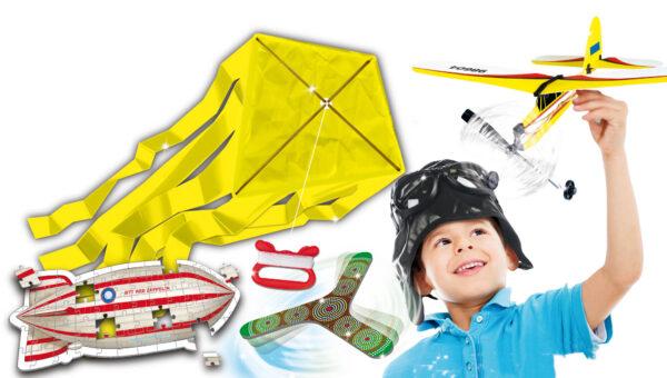 Piccolo Genio Incredibili macchine volanti - Piccolo Genio - Toys Center ALTRI Unisex 12+ Anni, 5-7 Anni, 5-8 Anni, 8-12 Anni PICCOLO GENIO