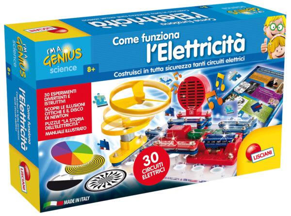 I'm a genius come funziona l'elettricita' - I'm A Genius - Toys Center I'M A GENIUS Unisex 5-8 Anni, 8-12 Anni ALTRI
