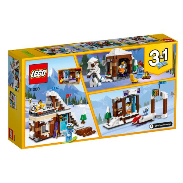 31080 - Vacanza invernale modulare - Lego Creator - Toys Center ALTRI Unisex 12+ Anni, 5-8 Anni, 8-12 Anni LEGO CREATOR