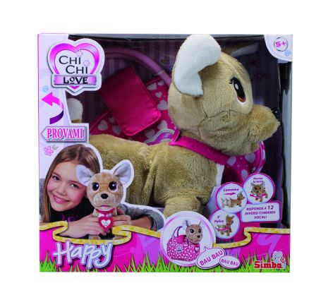 Chi Chi Love Happy interattivo - Chi Chi Love - Toys Center CHI CHI LOVE Femmina 12+ Anni, 3-5 Anni, 5-8 Anni, 8-12 Anni ALTRI