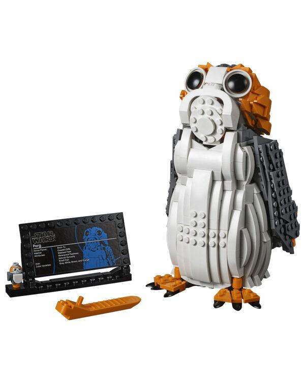 75230 - Porg - Altro - Toys Center ALTRO Unisex 12+ Anni, 5-8 Anni, 8-12 Anni Star Wars