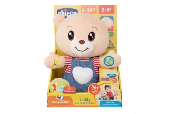TEDDY ORSO DELLE EMOZIONI - Chicco - Toys Center ALTRI Unisex 0-12 Mesi, 12-36 Mesi Chicco