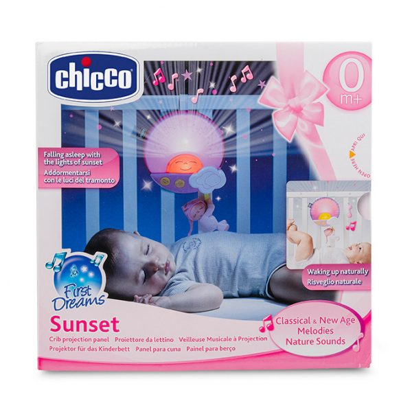 Chicco ALTRI Pannello Sunset Rosa Femmina 0-12 Mesi, 0-2 Anni, 12-36 Mesi, 3-5 Anni, 5-8 Anni