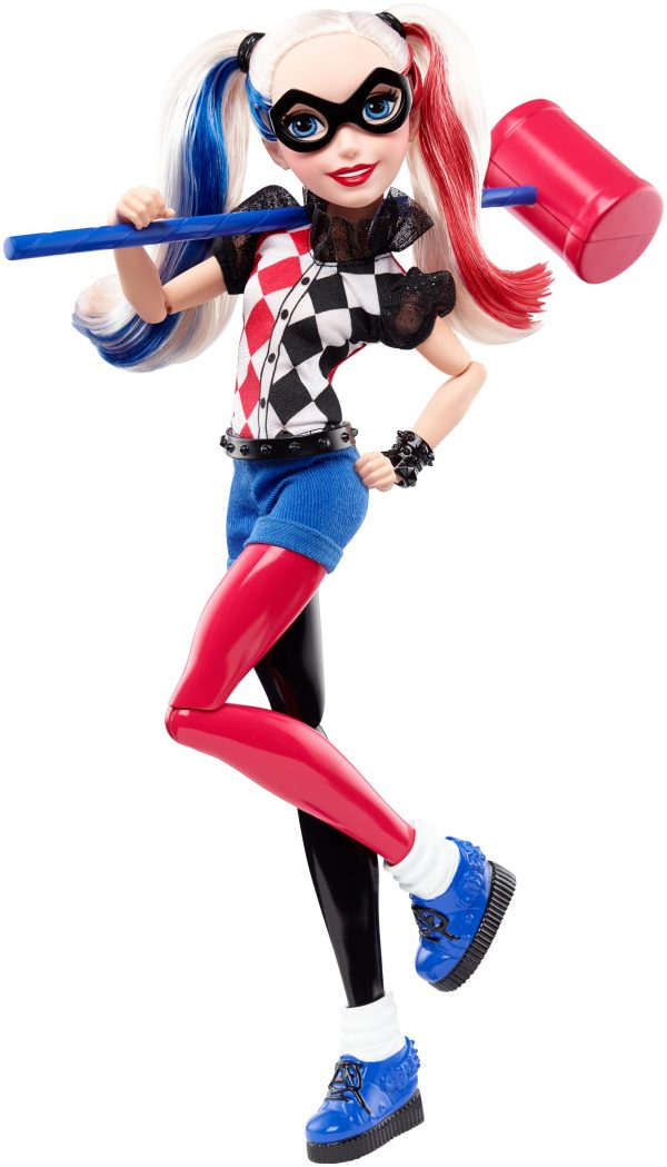 Harley Queen 30 cm - DC SUPER HERO GIRLS - Personaggi HARLEY QUINN Femmina  DC SUPER HERO GIRLS