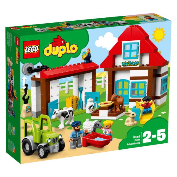 10869 - Visitiamo la fattoria ALTRI Unisex  LEGO DUPLO