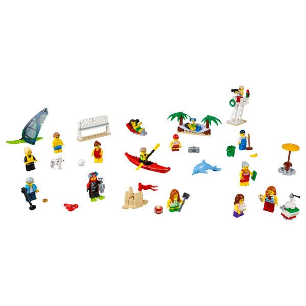 60153 - People pack – Divertimento in spiaggia - LEGO CITY - Costruzioni