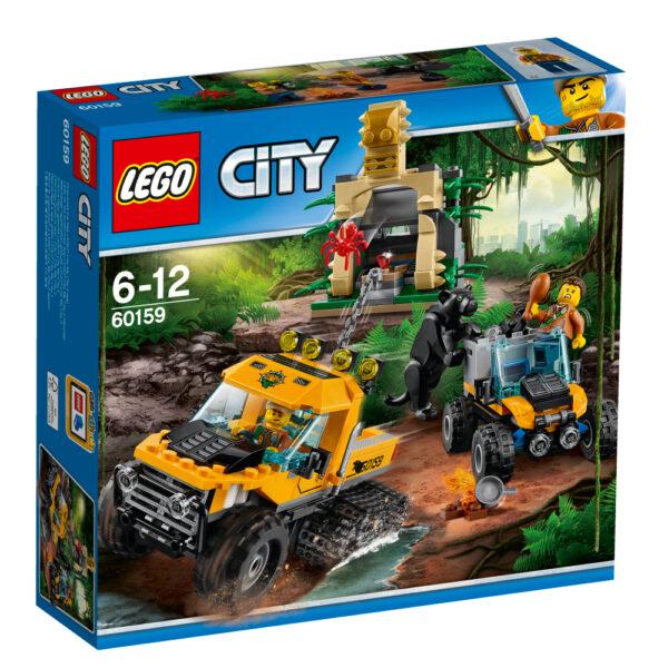 LEGO 60159 - Missione nella giungla con il semicingolato LEGO CITY Maschio 12+ Anni, 5-8 Anni, 8-12 Anni JURASSIC WORLD