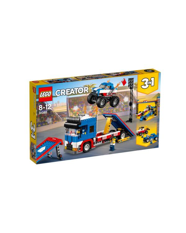 31085 - Truck dello Stuntman - Lego Creator - Toys Center LEGO CREATOR Unisex 12+ Anni, 5-8 Anni, 8-12 Anni ALTRI
