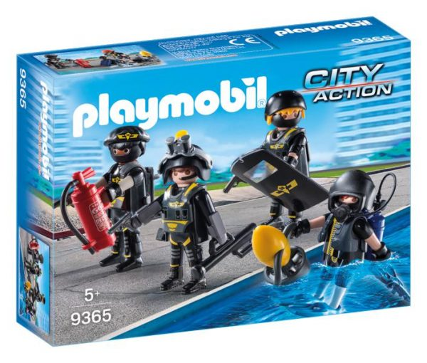 SQUADRA D'ASSALTO DELLA POLIZIA - Playmobil - City Action - Toys Center ALTRI Maschio 12+ Anni, 3-5 Anni, 5-8 Anni, 8-12 Anni PLAYMOBIL - CITY ACTION