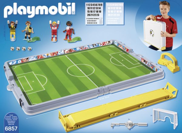 FOOTBALL CAMPO CALCIO PIEGHEV ALTRI Maschio 3-4 Anni, 5-7 Anni, 8-12 Anni PLAYMOBIL - SPORTS&ACTION