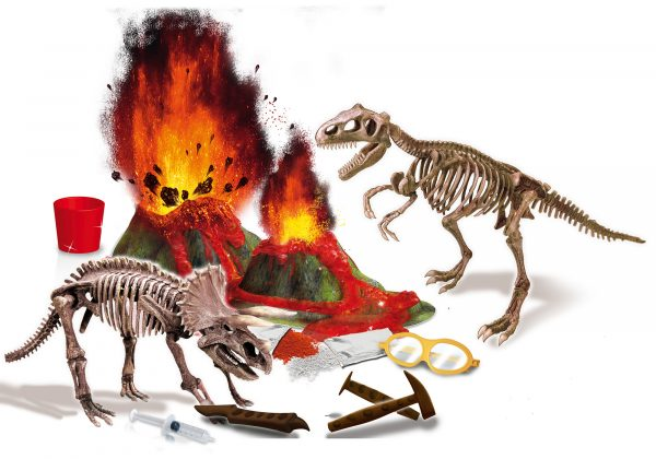 I'm a genius dinosauri e vulcani - I'M A GENIUS - Giochi educativi, musicali e scientifici