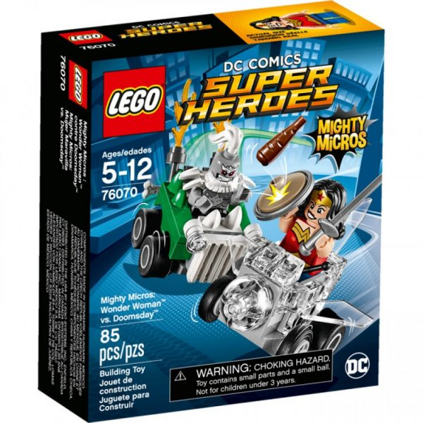 76070 - Mighty Micros: Wonder Woman™ contro Doomsday™ - LEGO DC COMICS SUPER HEROES - LEGO - Marche - LEGO SUPER HEROES - Costruzioni