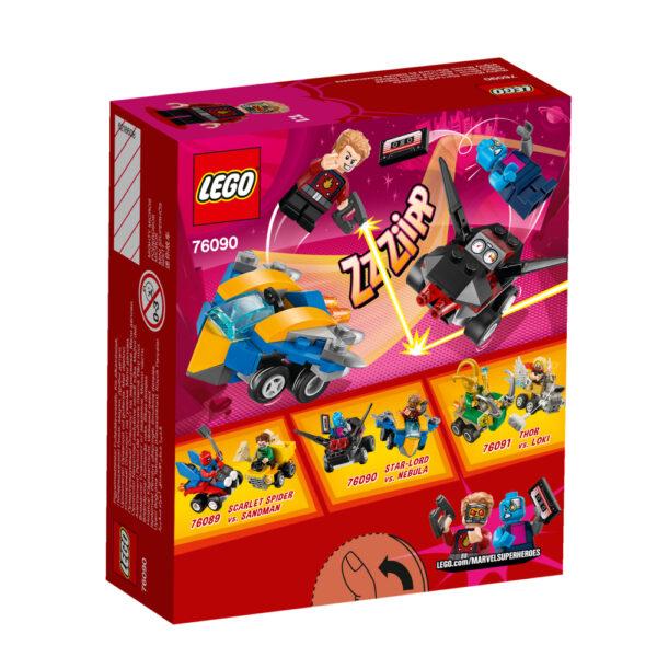 76090 - Mighty Micros: Star-Lord contro Nebula ALTRI Maschio 12+ Anni, 3-5 Anni, 5-8 Anni, 8-12 Anni LEGO SUPER HEROES