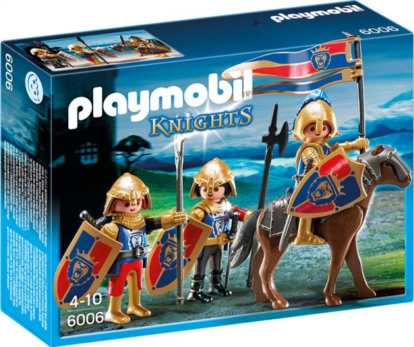 SQUADRA ESPLORAT CAV. LEONE Playmobil Knights Maschio 3-4 Anni, 3-5 Anni, 5-7 Anni, 5-8 Anni, 8-12 Anni ALTRI