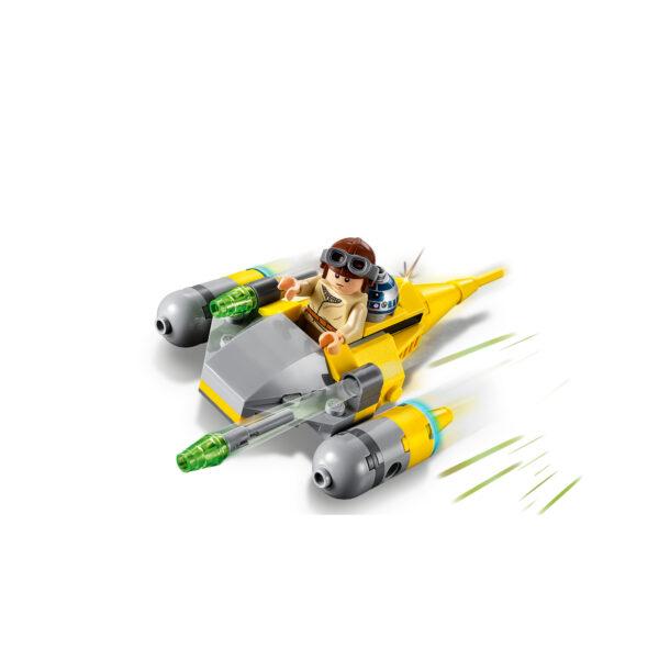 75223 - Microfighter Naboo Starfighter™ - DISNEY - DISNEY - Marche Disney Unisex 12+ Anni, 5-8 Anni, 8-12 Anni Star Wars