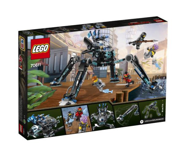 70611 - Idropattinatore - Lego Ninjago - Toys Center ALTRI Maschio 12+ Anni, 5-8 Anni, 8-12 Anni LEGO NINJAGO