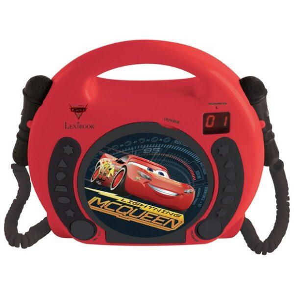 LETTORE CD CARS CON MICROFONI - TOYS CENTER - Fino al -30%
