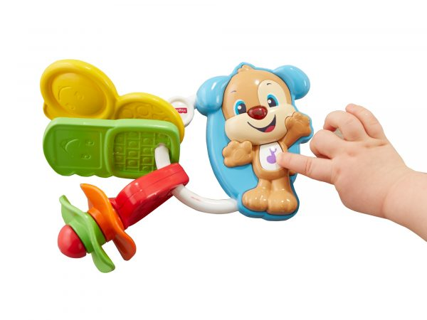 ALTRI FISHER-PRICE Unisex 0-12 Mesi, 12-36 Mesi Fisher Price - Chiavi Conta e Vai, dentaruolo giocattolo elettronico ridi impara 6-36 mesi - FPH60 - Fisher Price - Toys Center