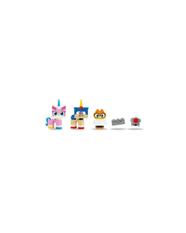 ALTRI LEGO UNIKITTY Unisex 12+ Anni, 5-8 Anni, 8-12 Anni 41454 - Il laboratorio della D.ssa Volpe