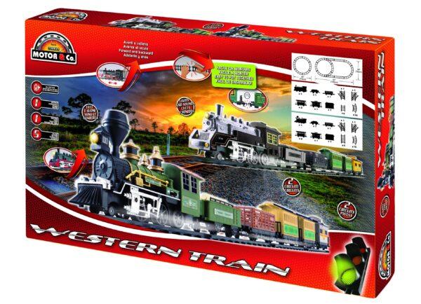 WESTERN TRAIN - Toys Center - Toys Center - TOYS CENTER - Trenini elettrici, piste e accessori