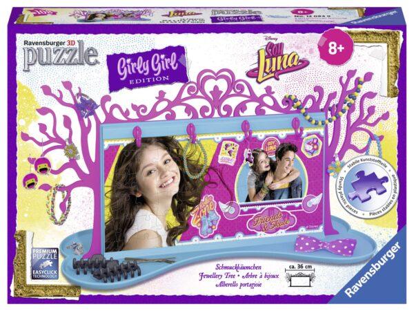 Girly girl 3D Porta gioielli Soy Luna - Disney - Toys Center - Disney - Puzzle 3D