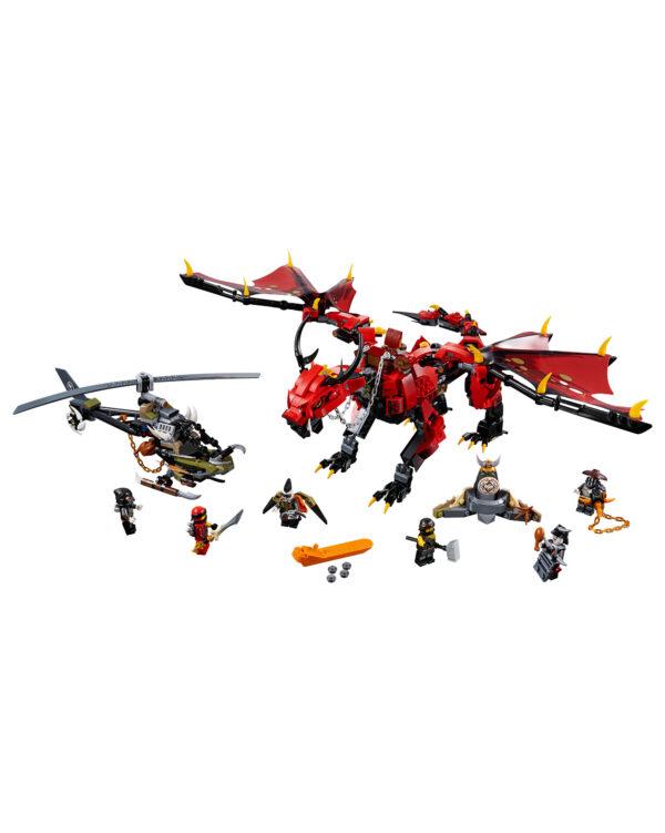 ALTRI LEGO NINJAGO Unisex 12+ Anni, 8-12 Anni 70653 - Dragone del destino - Lego Ninjago - Toys Center