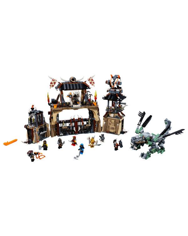 LEGO NINJAGO ALTRI 70655 - La fossa del dragone - Lego Ninjago - Toys Center Unisex 12+ Anni, 8-12 Anni