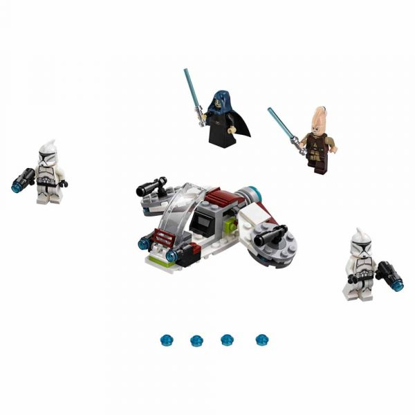 Disney Star Wars 75206 - Battle Pack Jedi™ e Clone Troopers™ - Disney - Toys Center Unisex 12+ Anni, 5-8 Anni, 8-12 Anni