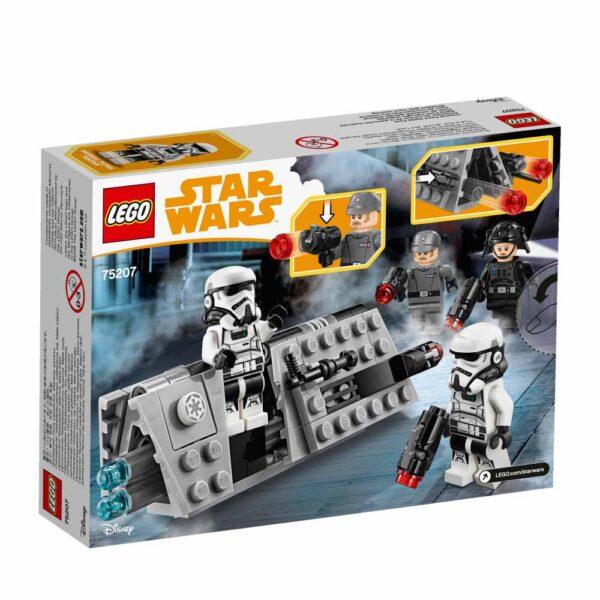 75207 - Battle Pack Pattuglia imperiale - Disney - Toys Center Star Wars Unisex 12+ Anni, 5-8 Anni, 8-12 Anni Disney