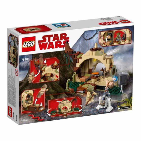 75208 - Il rifugio di Yoda - Best Seller Disney - DISNEY - Marche Star Wars Unisex 12+ Anni, 5-8 Anni, 8-12 Anni Disney
