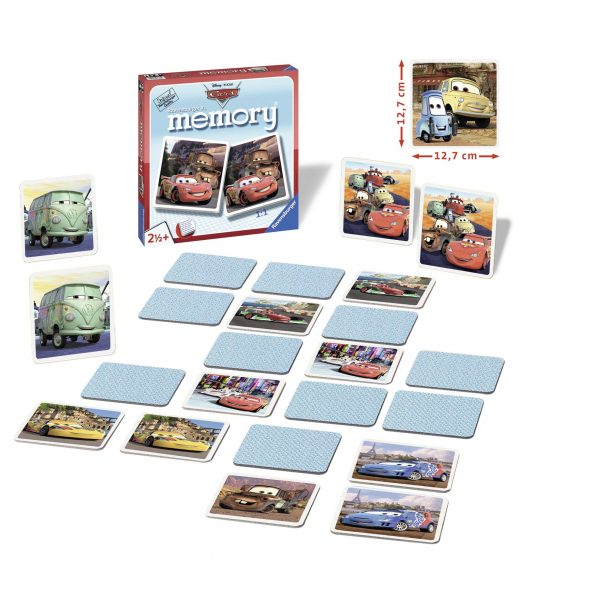 ALTRO CARS memory® XL - Cars Unisex 12-36 Mesi, 12+ Anni, 3-5 Anni, 5-8 Anni, 8-12 Anni