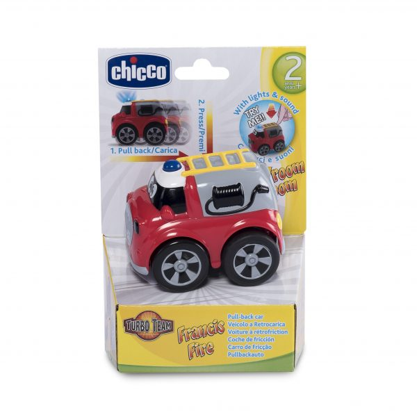Chicco ALTRI Turbo Team Workers pompieri - Chicco - Toys Center Unisex 12-36 Mesi, 3-4 Anni, 3-5 Anni, 5-7 Anni