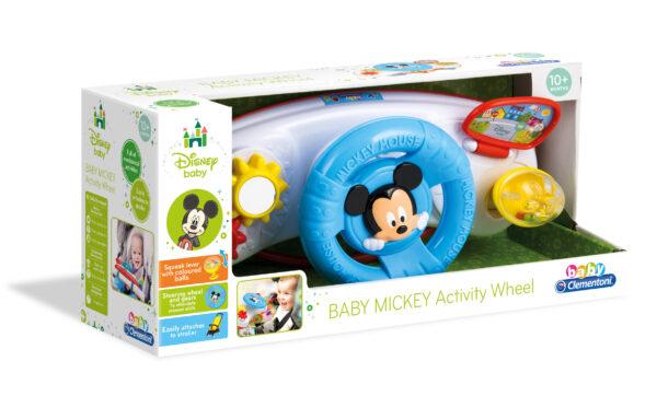 BABY MICKEY VOLANTE DA PASSEGGINO - DISNEY - DISNEY - Marche Disney Unisex 0-12 Mesi, 12-36 Mesi, 3-5 Anni TOPOLINO&CO.