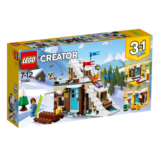 31080 - Vacanza invernale modulare - Lego Creator - Toys Center LEGO CREATOR Unisex 12+ Anni, 5-8 Anni, 8-12 Anni ALTRI