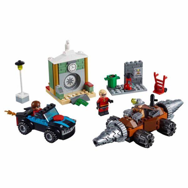 LEGO JUNIORS Gli Incredibili 2 10760 - Rapina in banca del minatore - Lego Juniors - Toys Center Unisex 3-5 Anni, 5-8 Anni