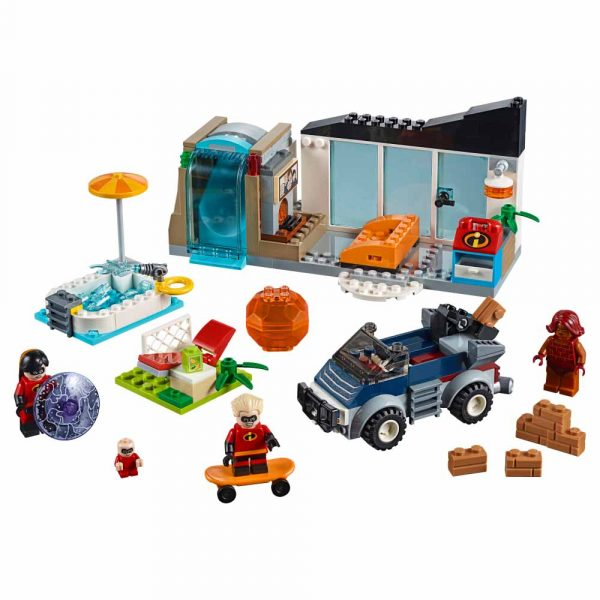 LEGO JUNIORS Gli Incredibili 2 10761 - La grande fuga dalla casa - Lego Juniors - Toys Center Unisex 3-5 Anni, 5-8 Anni