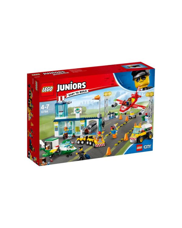 10764 - Aeroporto di città - Lego Juniors - Toys Center LEGO JUNIORS Unisex 3-5 Anni, 5-8 Anni ALTRI