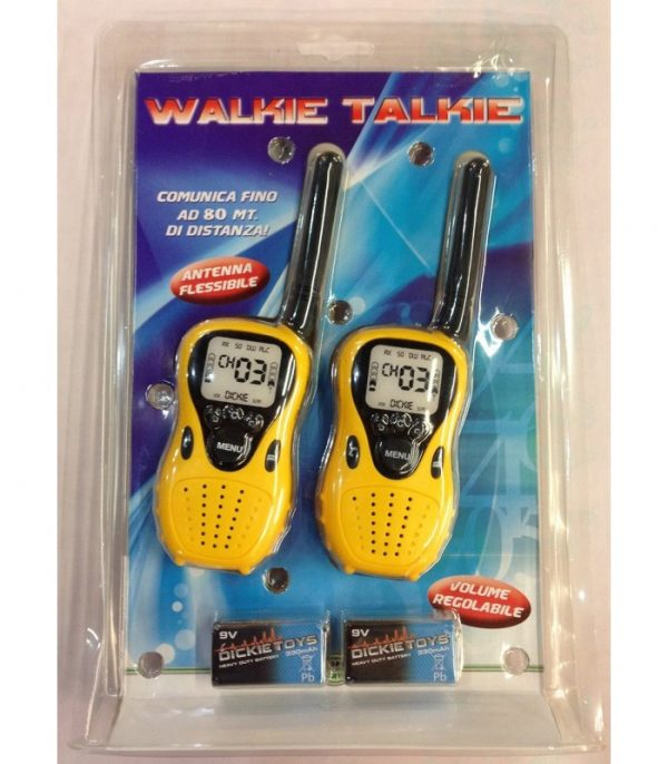 SUN&SPORT ALTRI WALKIE TALKIE BASIC Unisex 3-5 Anni, 5-8 Anni, 8-12 Anni