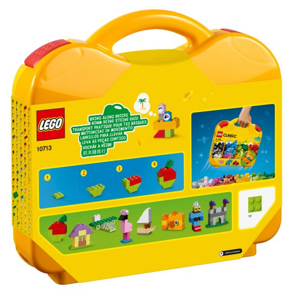 10713 - Valigetta creativa - Lego Classic - Toys Center ALTRI Unisex 12+ Anni, 3-5 Anni, 5-8 Anni, 8-12 Anni LEGO CLASSIC