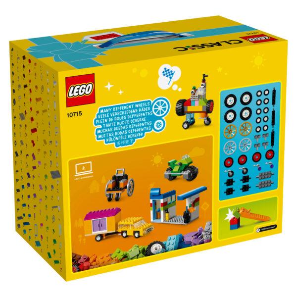10715 - Mattoncini su ruote - Lego Classic - Toys Center ALTRI Unisex 12+ Anni, 3-5 Anni, 5-8 Anni, 8-12 Anni LEGO CLASSIC