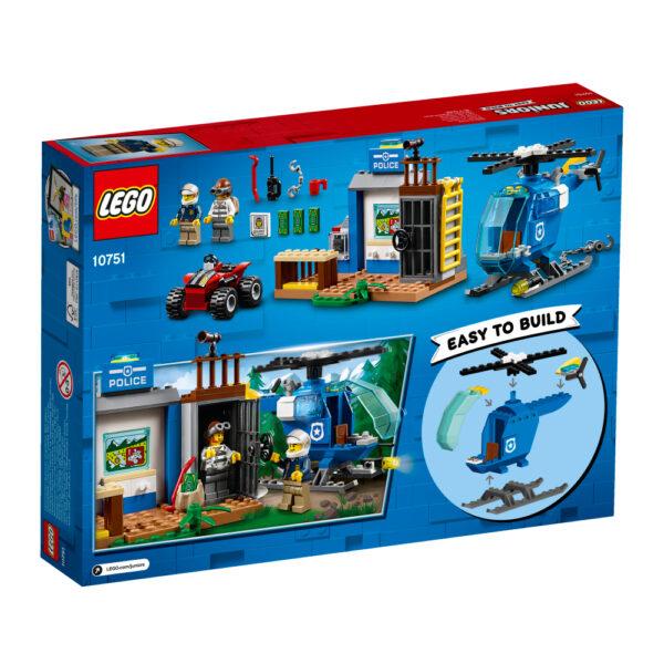 10751 - Inseguimento della polizia di montagna - Lego Juniors - Toys Center ALTRI Maschio 3-5 Anni, 5-8 Anni, 8-12 Anni LEGO JUNIORS