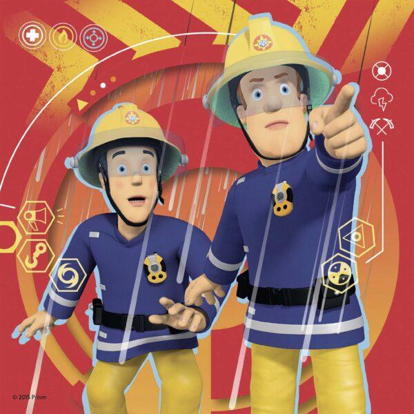 ALTRO SAM IL POMPIERE Sam il pompiere 3 in a box Maschio 3-5 Anni
