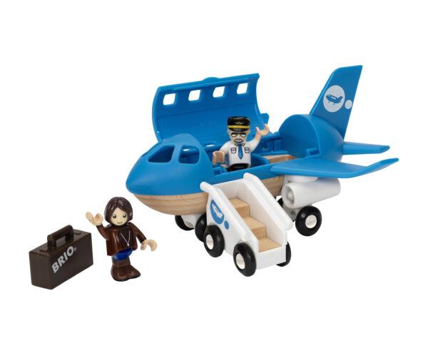 BRIO set aeroplano con scala imbarco ALTRI Unisex 12-36 Mesi, 3-4 Anni, 3-5 Anni, 5-7 Anni, 5-8 Anni BRIO